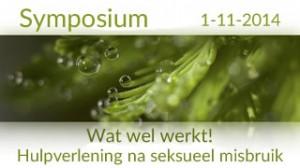 Symposium Wat Wel Werkt! Hulpverlening na seksueel misbruik.